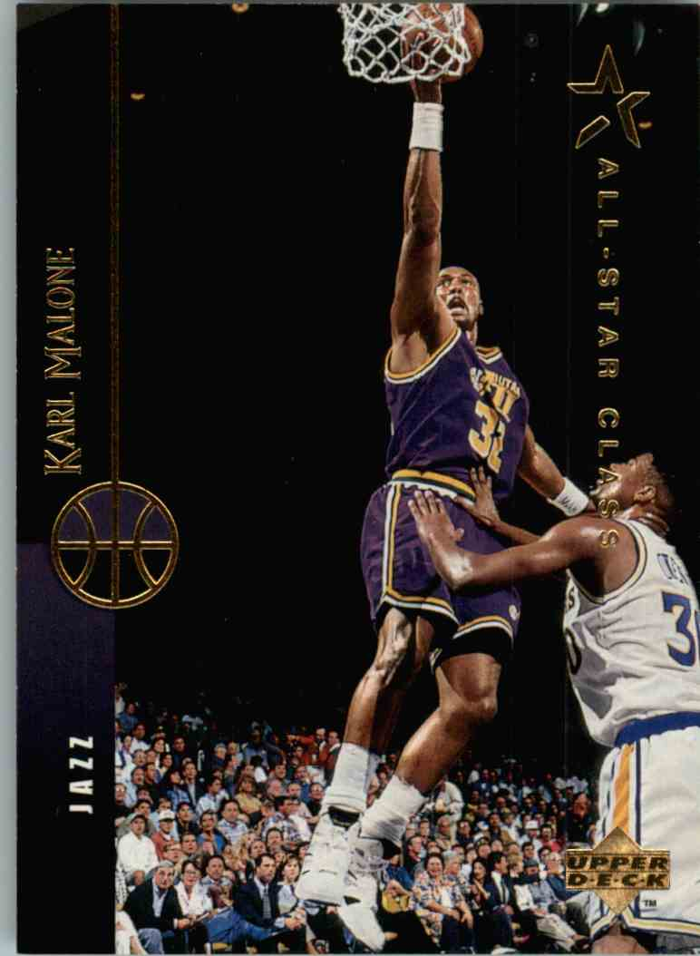 new arrival 10b8b d4427 1994-95 Upper Deck All-Star Class Karl Malone #241 on ...