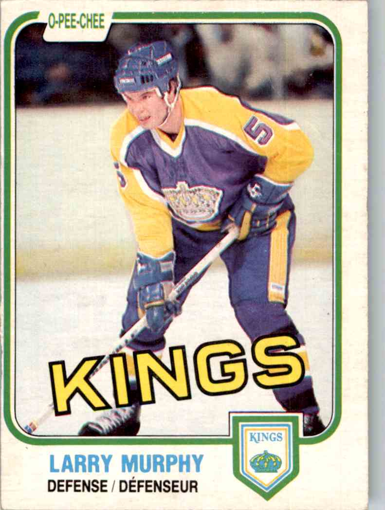 1981-82 O-Pee-Chee Larry Murphy #148 card front image