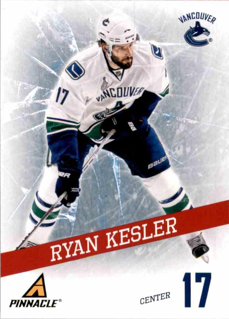 2011-12 Pinnacle Breakthrough Ryan Kesler #1 card front image