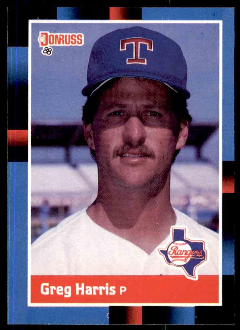 1988 Donruss Baseball Greg Harris 427 On Kronozio