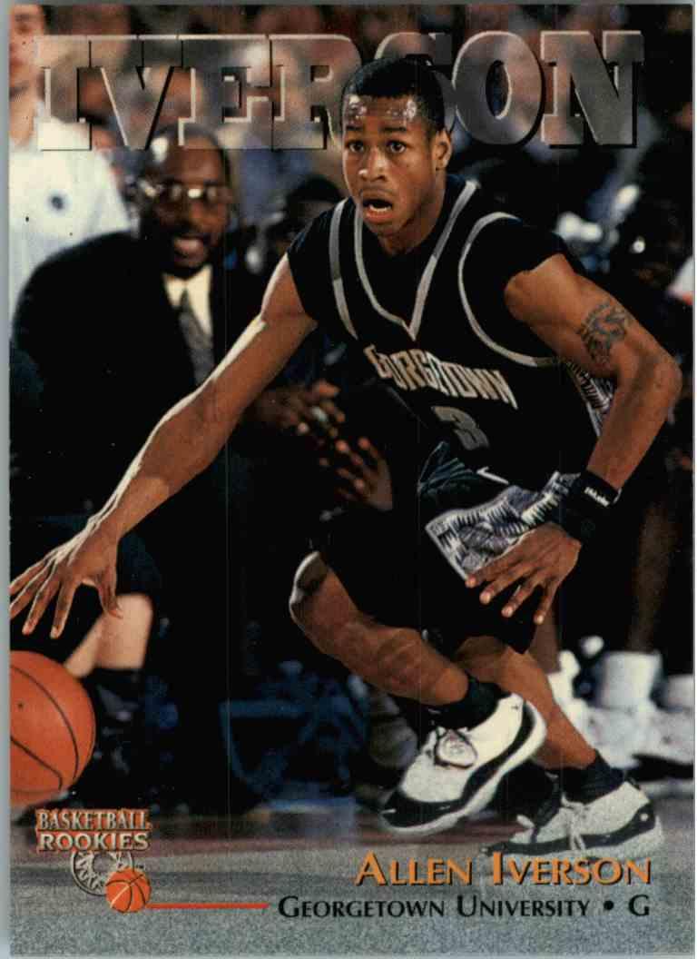 1996 97 Score Board Allen Iverson 1 On Kronozio