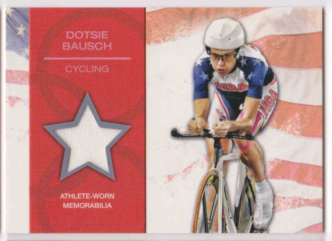 2012 Topps U.S. Olympic Team Relic Dotsie Bausch #OR-DB card front image
