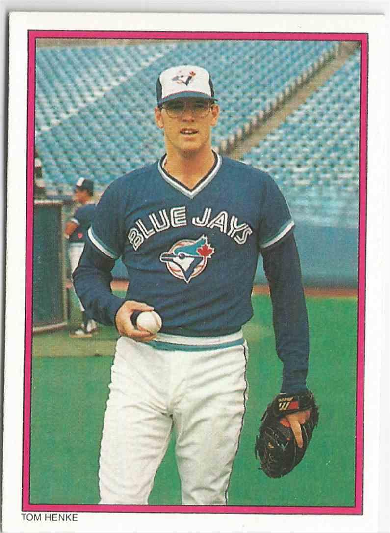 1737ed2907f 1988 Topps Glossy Send Ins Tom Henke - Glossy Send-Ins All Star - Toronto