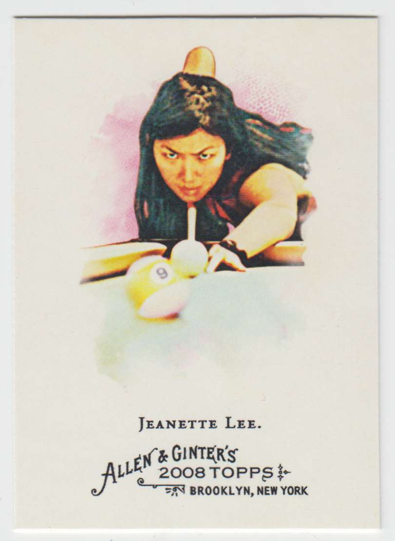 2008 Topps Allen And Ginter Jeanette Lee #282 card front image