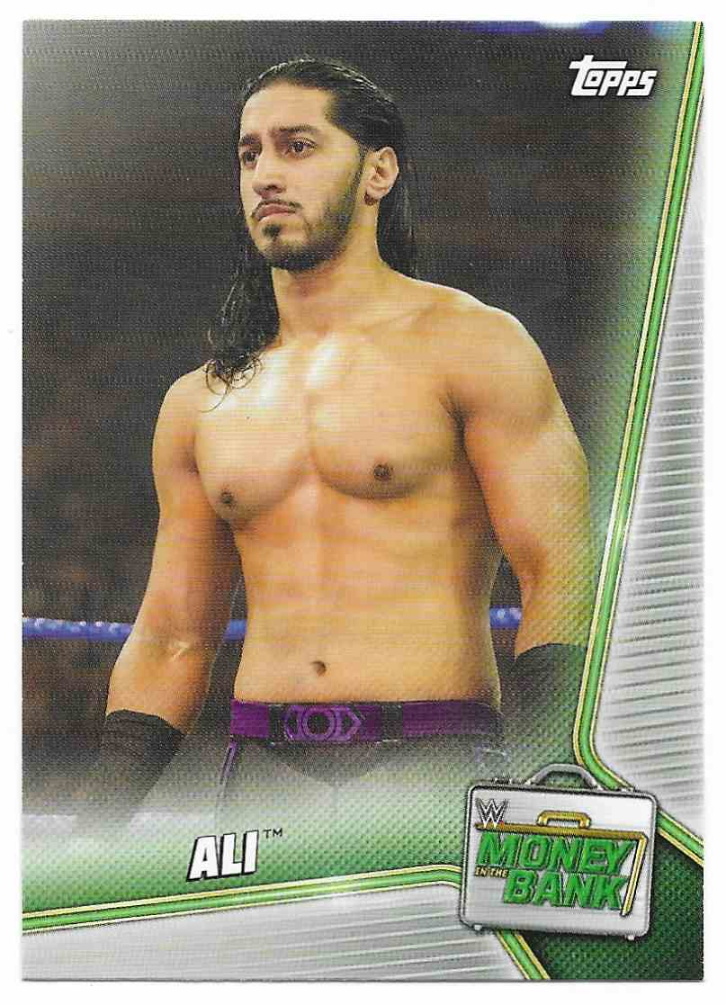 2019 Topps Wwe Money In Then Bank Ali #57 card front image
