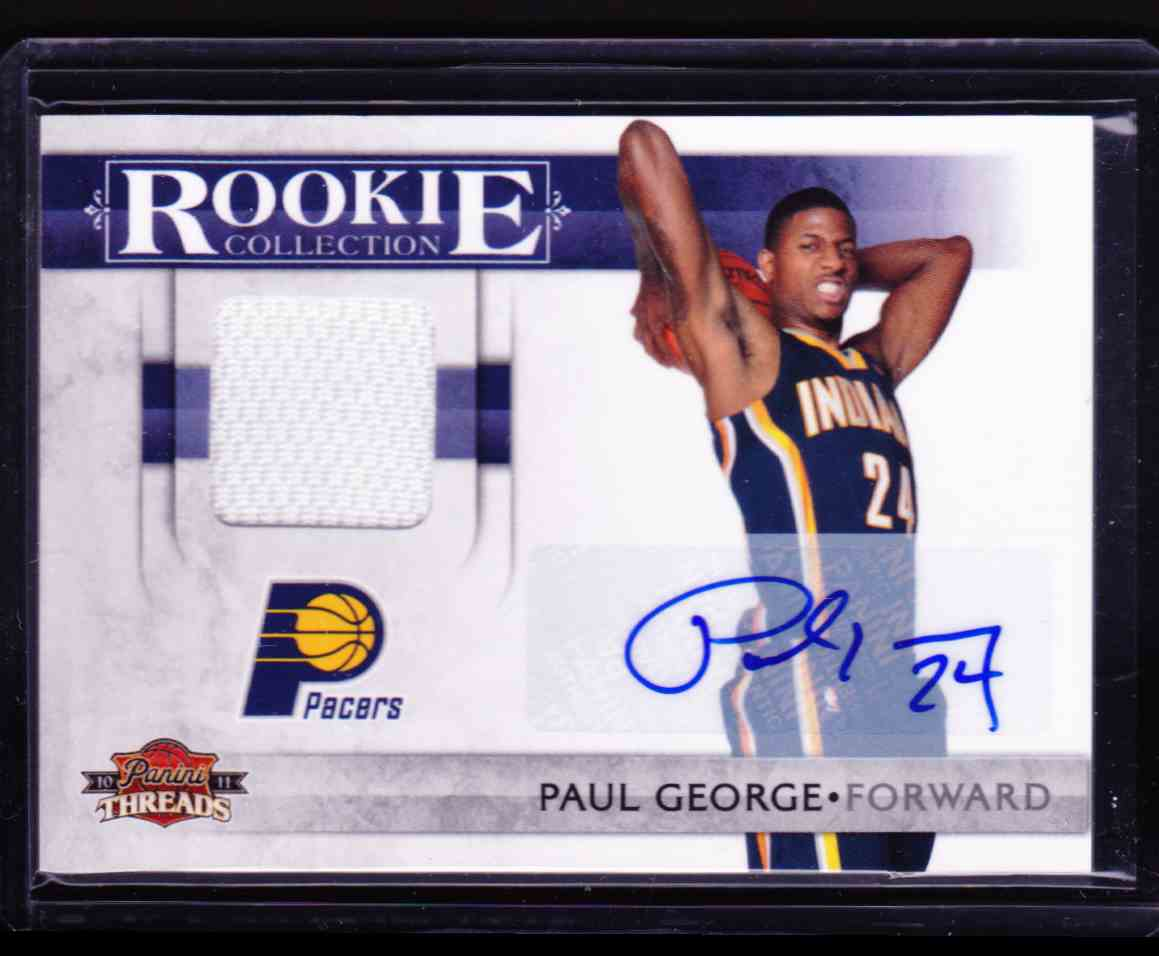2010-11 Panini Threads Paul George card front image