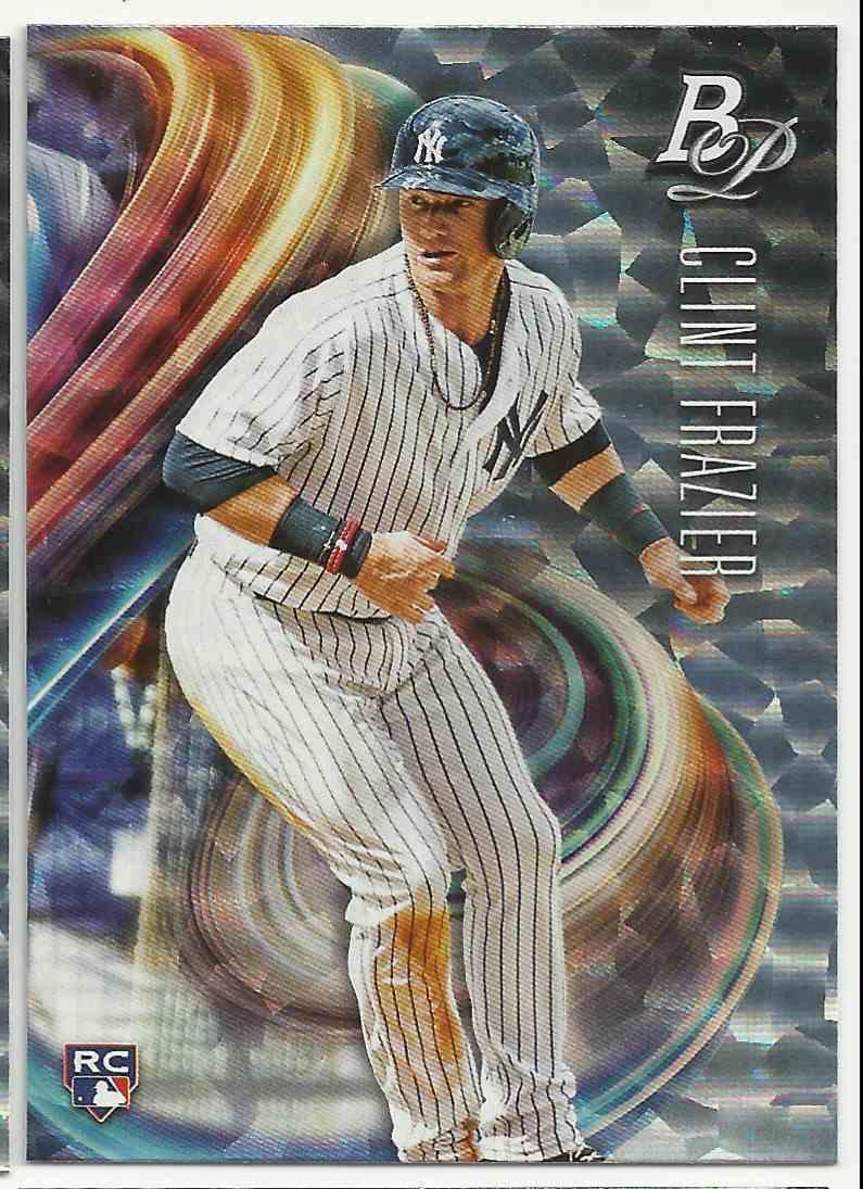 2018 Bowman Platinum Ice Clint Frazier #79 card front image