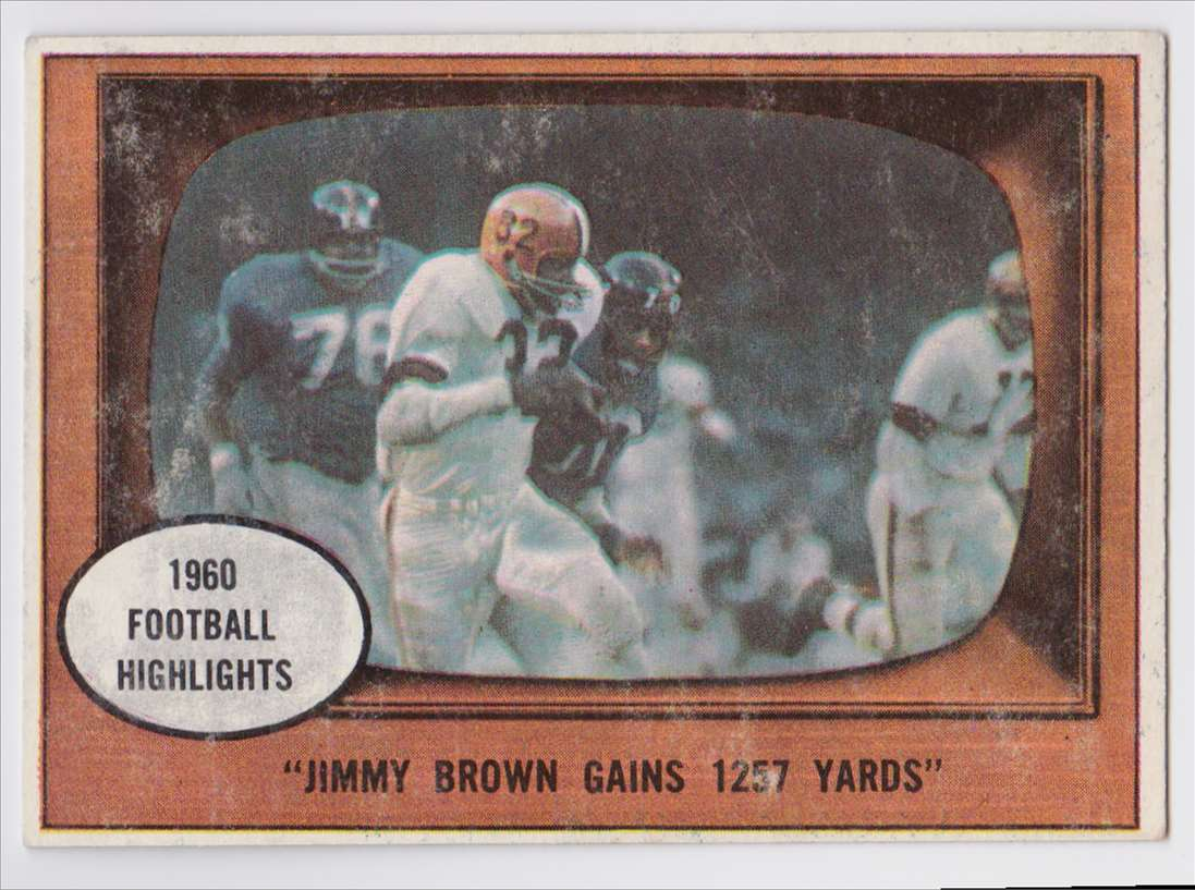 1961 Topps Jimmy Browns #77 card front image