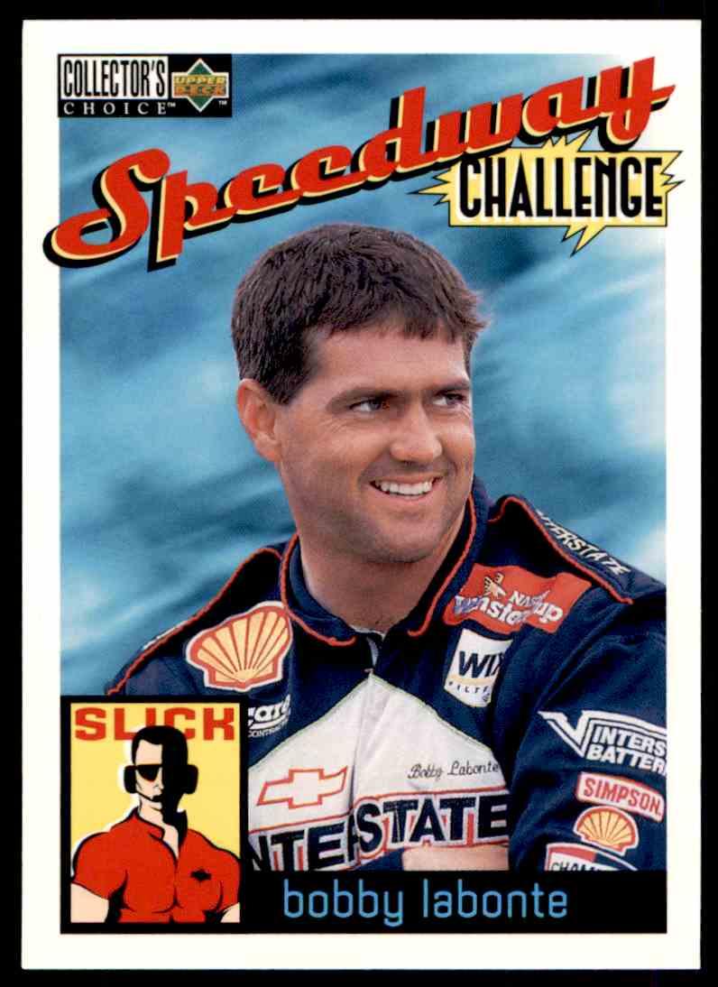 1996 Upper Deck Bobby Labonte #113 card front image