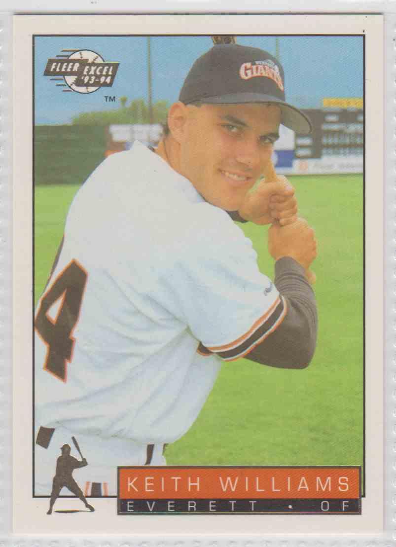 1993 1993 94 Fleer Excel Keith Williams 296 On Kronozio