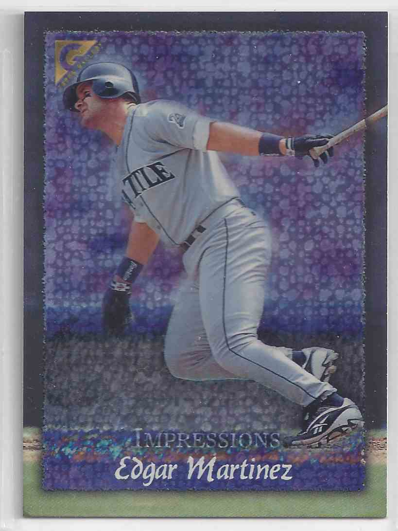 1998 Topps Gallerry Impressions Edgar Martinez #148 card front image