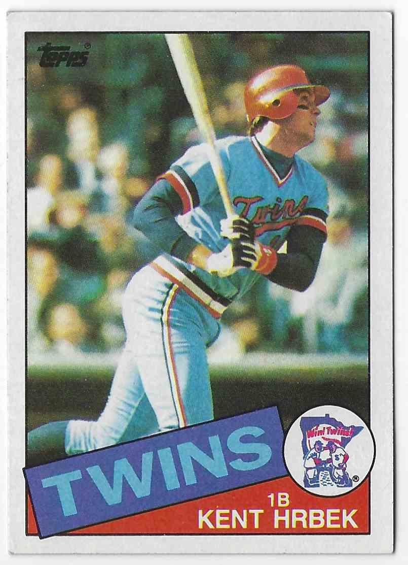 1985 Topps Kent Krbek #510 card front image