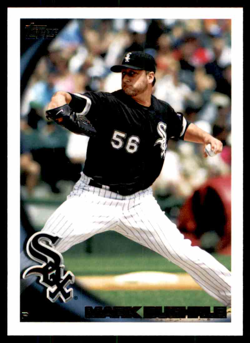 2010 Topps Mark Buehrle #358 card front image