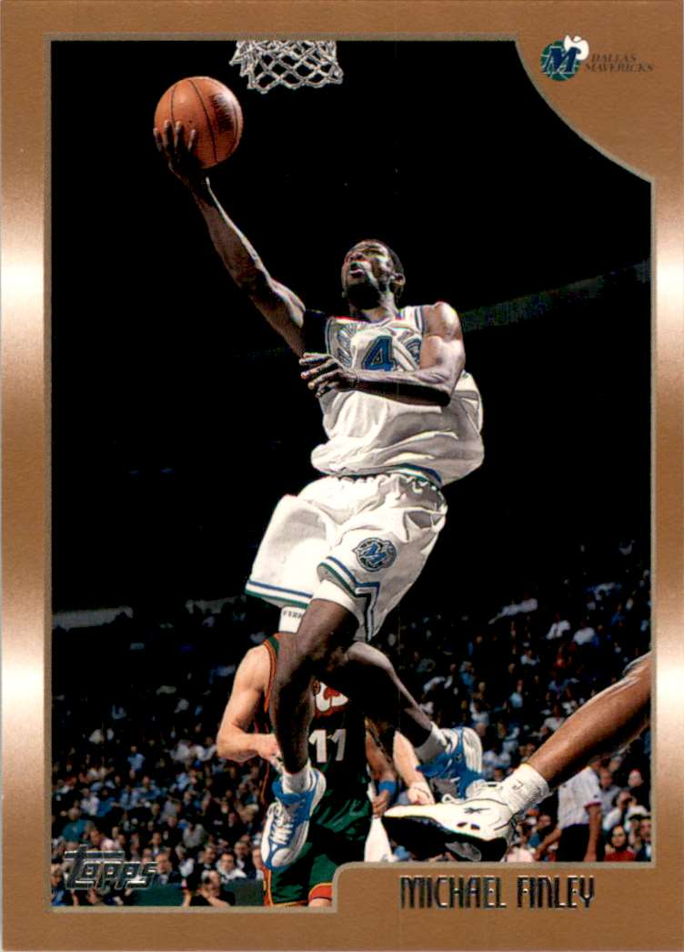 1998-99 Topps Michael Finley #81 card front image