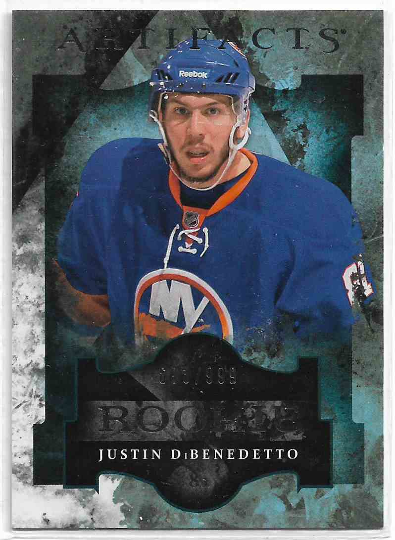2011-12 Upper Deck Artifacts Justin DiBendetto #178 card front image