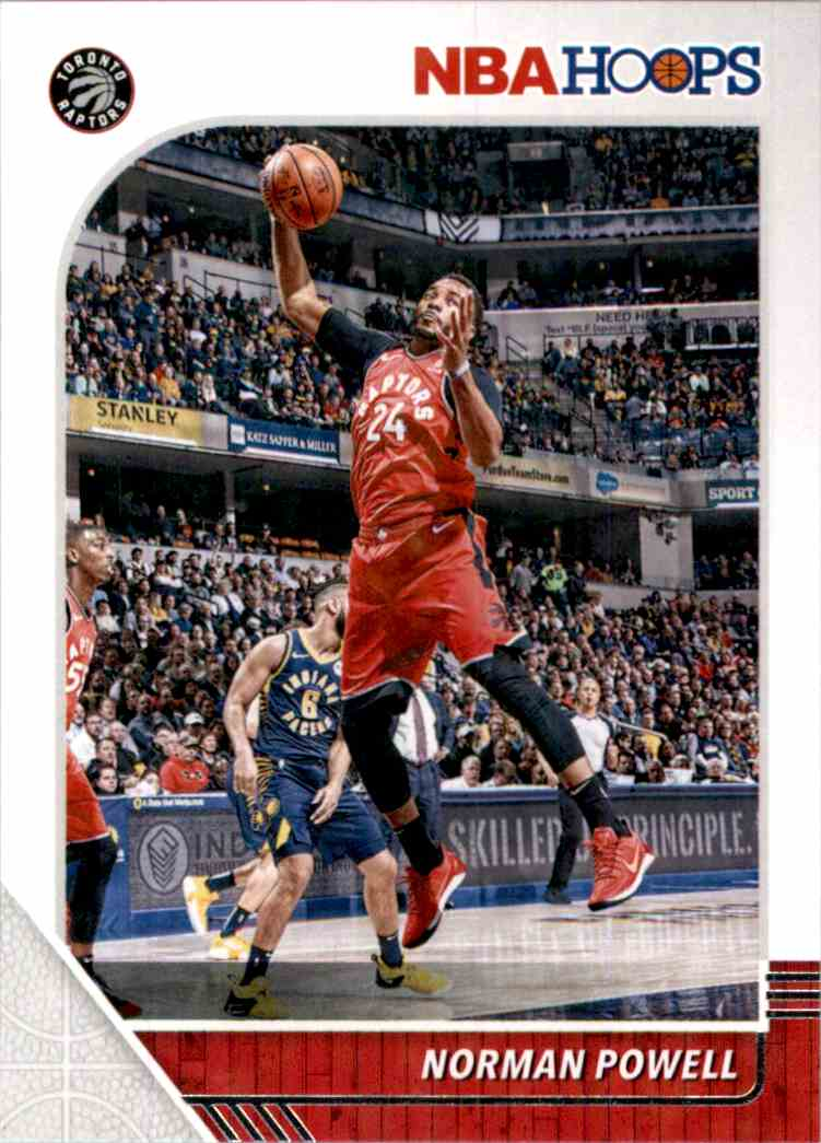 2019-20 Hoops Norman Powell #184 card front image