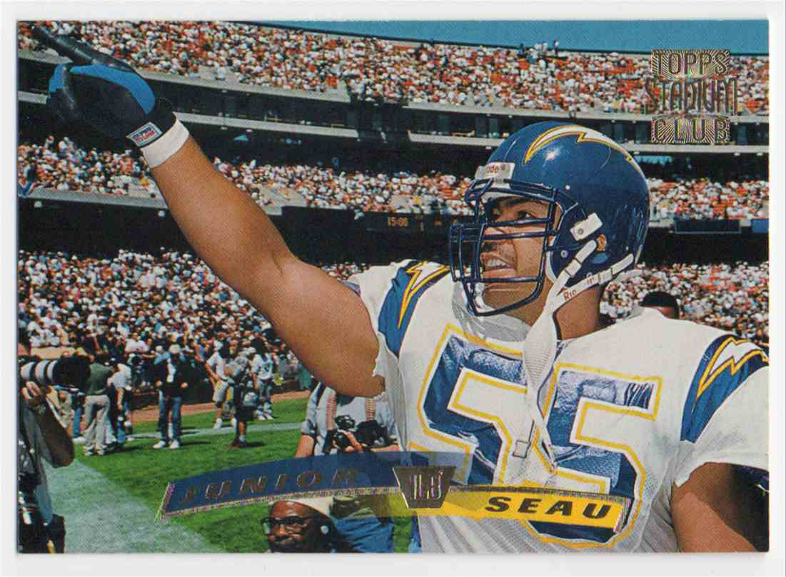 1996 Stadium Club Junior Seau #48 card front image