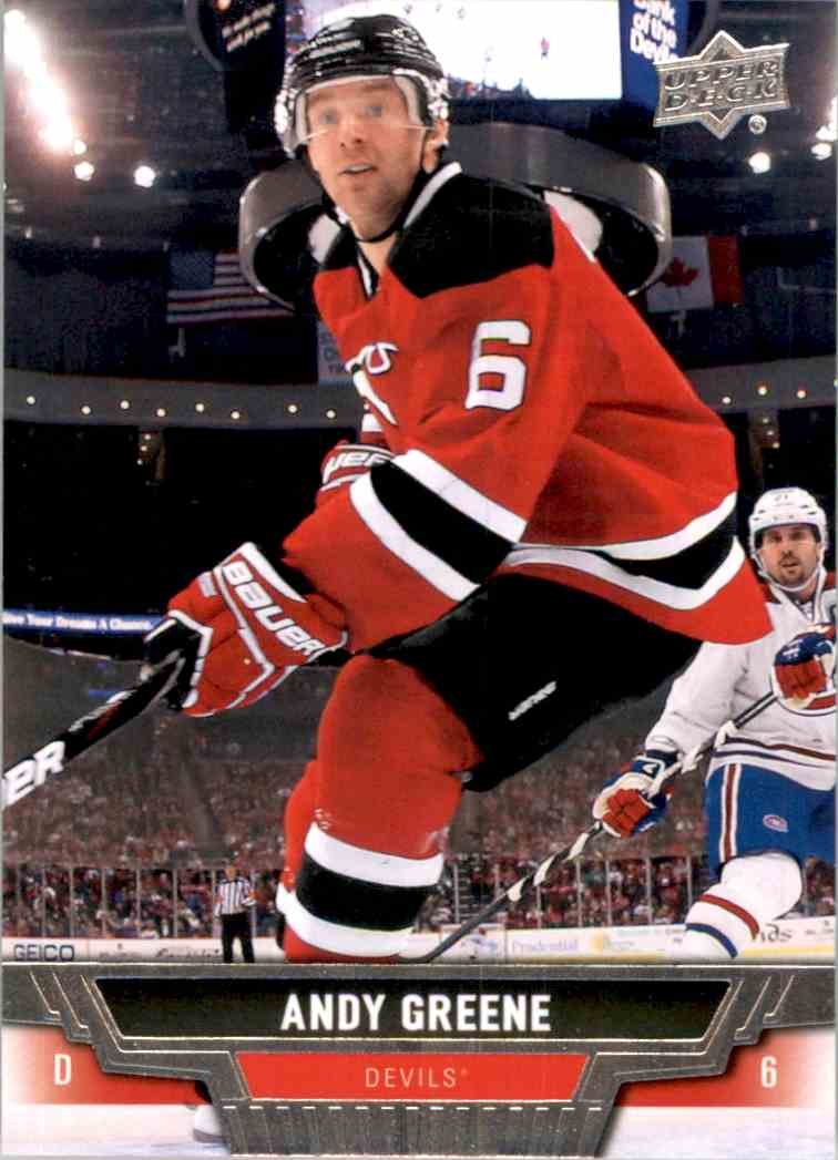 online store 9be84 c161f 15 Andy Greene - New Jersey Devils trading cards for sale
