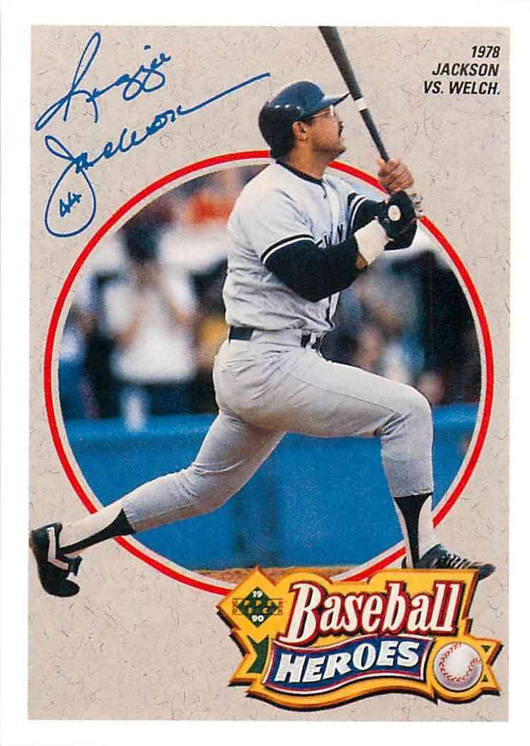 1992 Upper Deck Baseball Heroes Reginald Martinez Jackson 4 Of 9 On