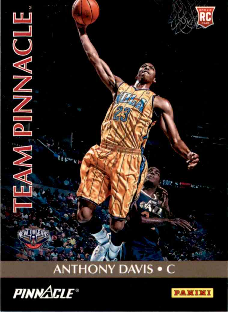2013-14 Panini Father's Day Team Pinnacle Anthony Davis/Michael Kidd-Gilchrist #12 card front image