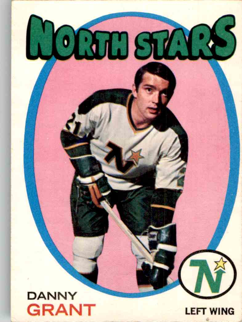 1971-72 O-Pee-Chee Danny Grant #79 card front image