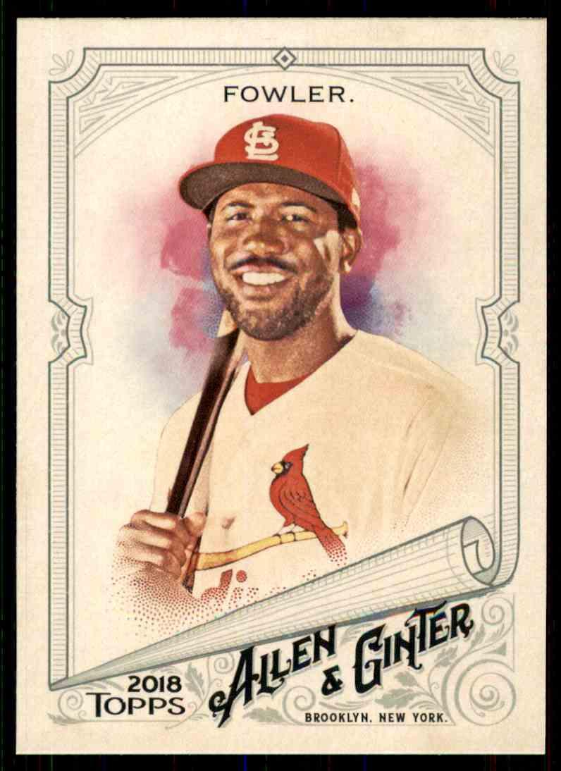 2018 Topps Allen & Ginter Dexter Fowler #45 card front image