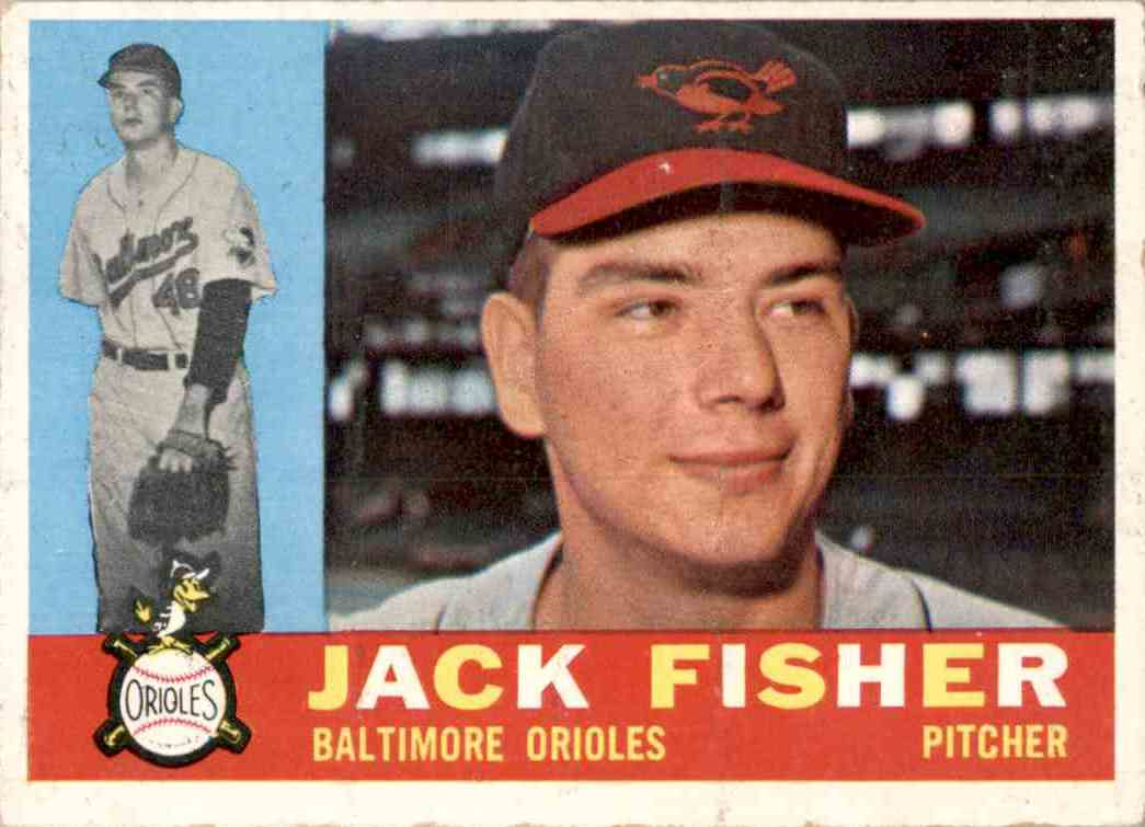 1960 Topps Jack Fisher RC #46 card front image