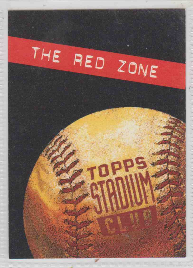 75f846d335 1994 Topps Stadium Club Checklist #3 card front image