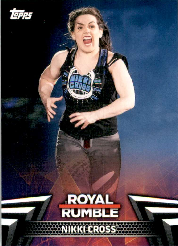 2019 Topps Wwe Women's Division Women's Royal Rumble Nikki Cross #RR7 card front image