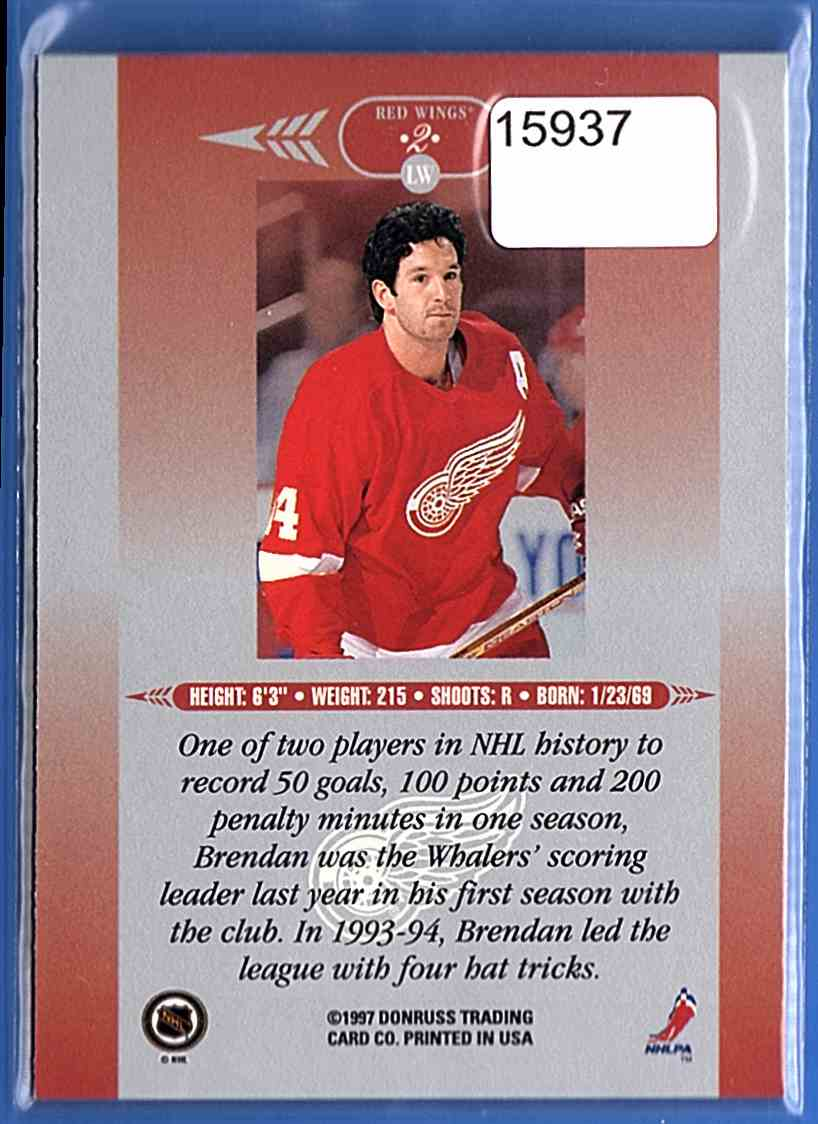 1996-97 Leaf Limited Brendan Shanahan #2 card back image