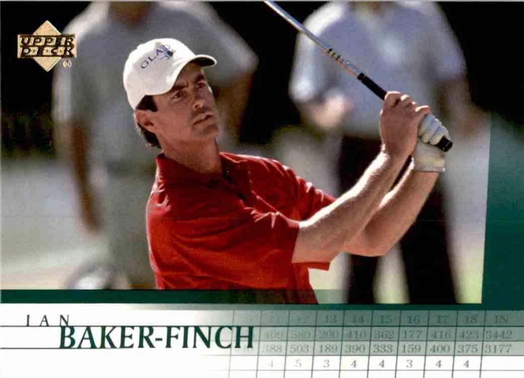 2001 Upper Deck Ian Baker-Finch #4 card front image