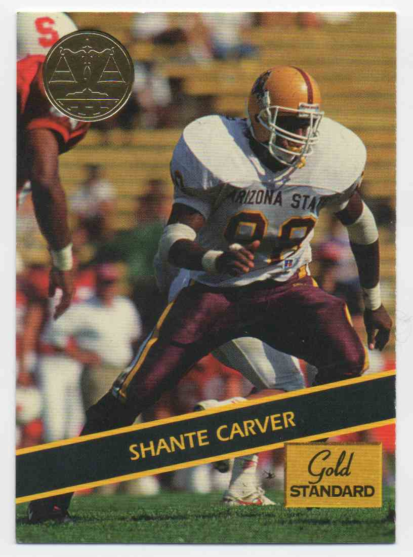 1994 Signature Rookies Gold Standard Shante Carver #32 card front image