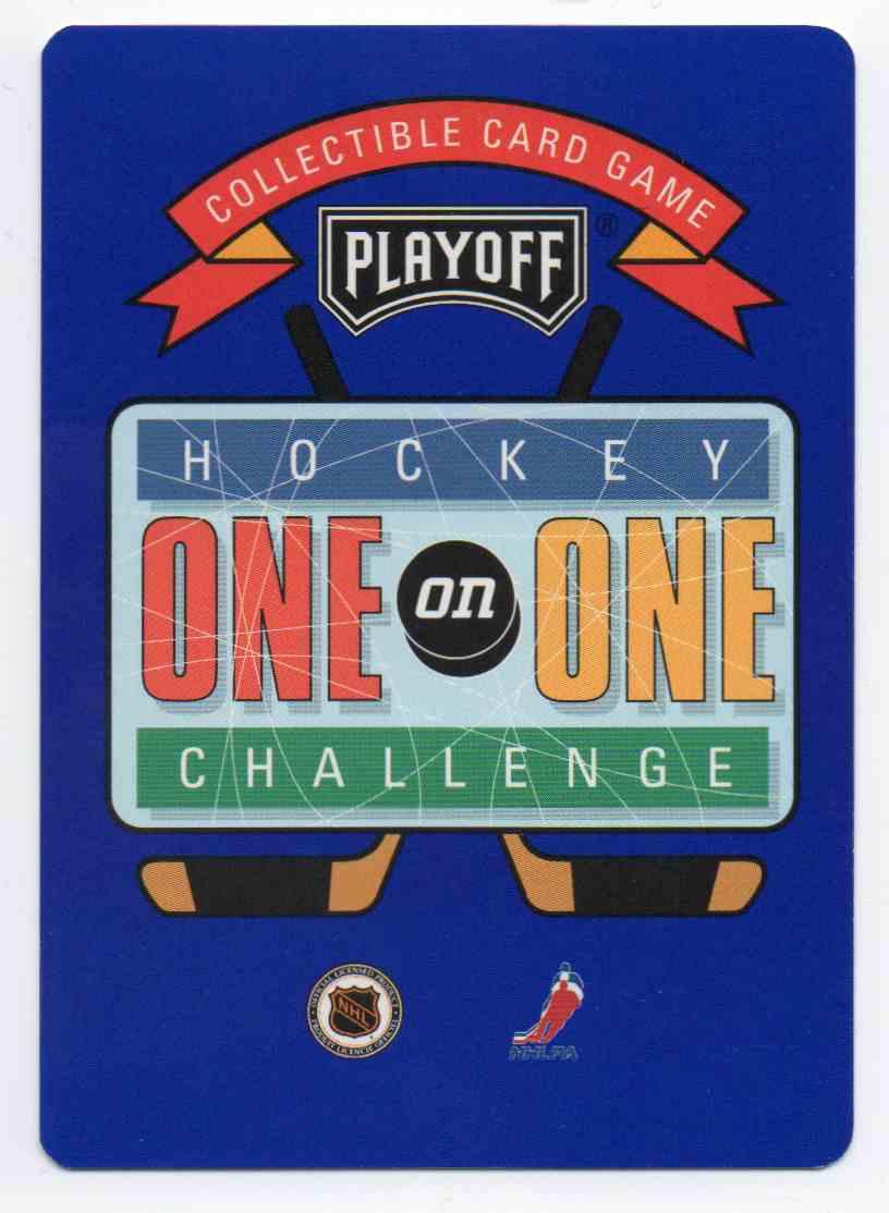 1995-96 Playoff One On One Joe Juneau #105 card back image