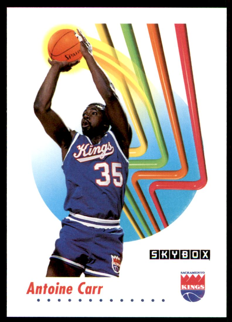 1991 92 Skybox Antoine Carr 244 on Kronozio