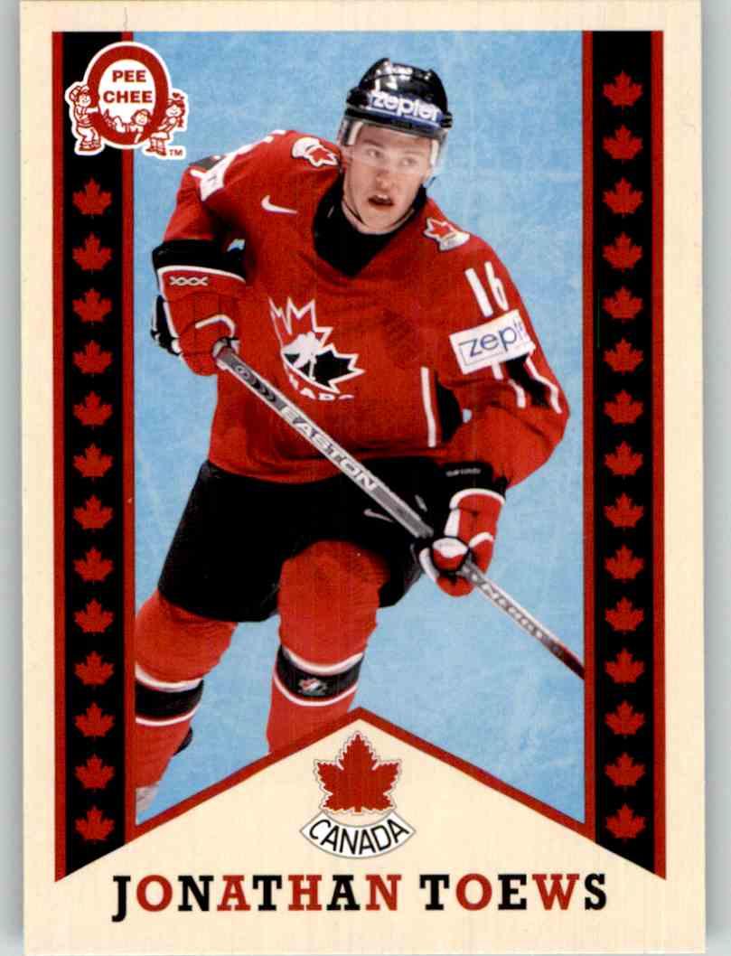 2017-18 Upper Deck Team Canada Retro Jonathan Toews #R-3 card front image