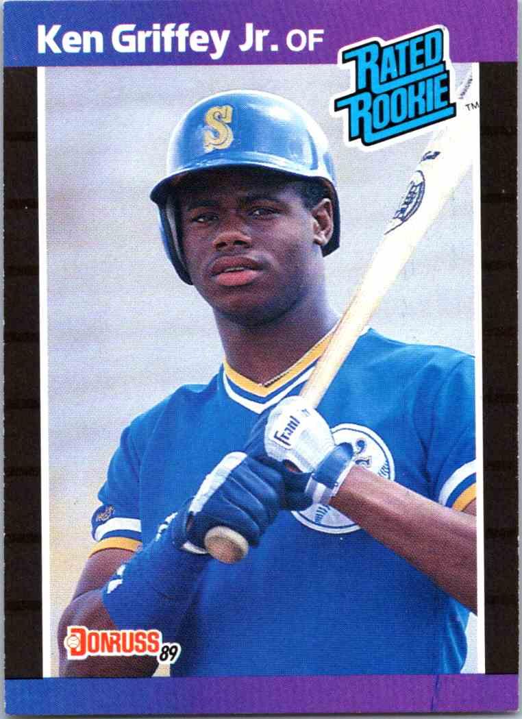 Details About 1989 Donruss Ken Griffey Jr Rookie Card 33