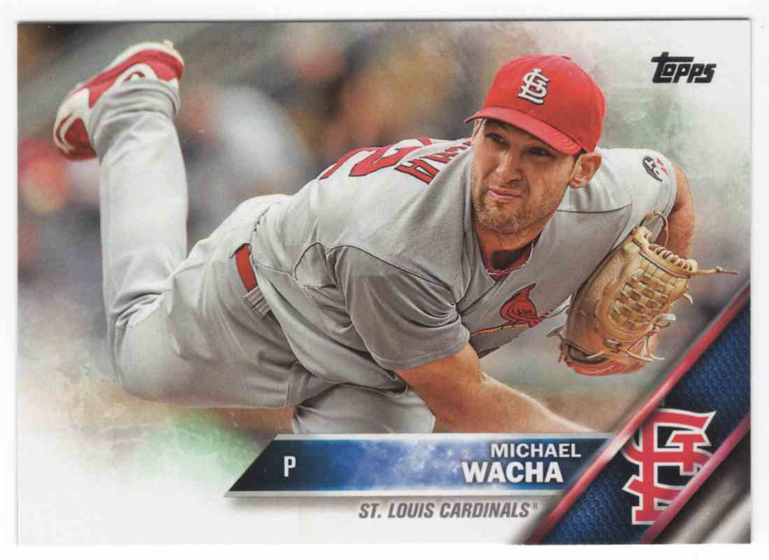 2016 Topps Michael Wacha #579A card front image