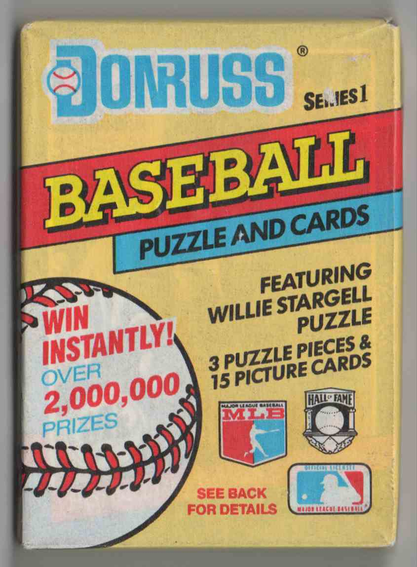1991 Donruss Series 1 Unopened Pack #15 card front image