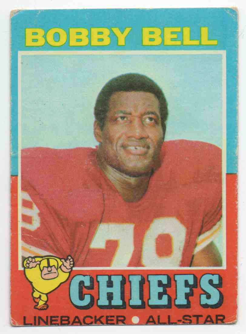 1971 Topps Bobby Bell #35 card front image