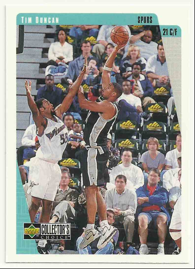 1997-98 Collector's Choice Tim Duncan #323 card front image