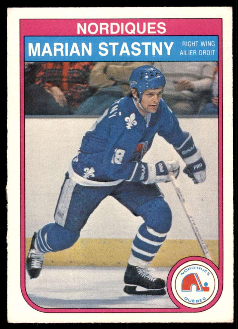 1982-83 OPC Marian Stastny #295 card front image