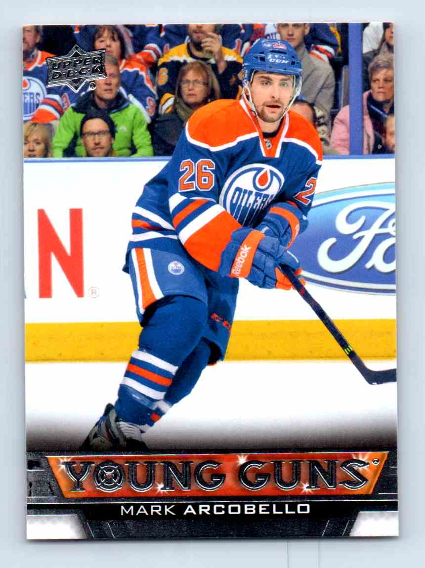 2013-14 Upper Deck Young Guns Mark Arcobello #463 card front image