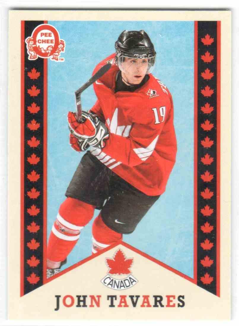 2017-18 Upper Deck Team Canada Canadian Tire Retro John Tavares #R-4 card front image