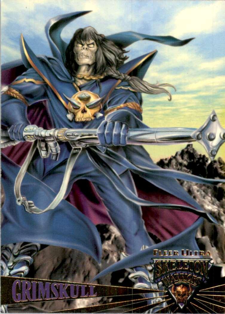 1995 Skeleton Warriors Ultra Grimskull #11 card front image