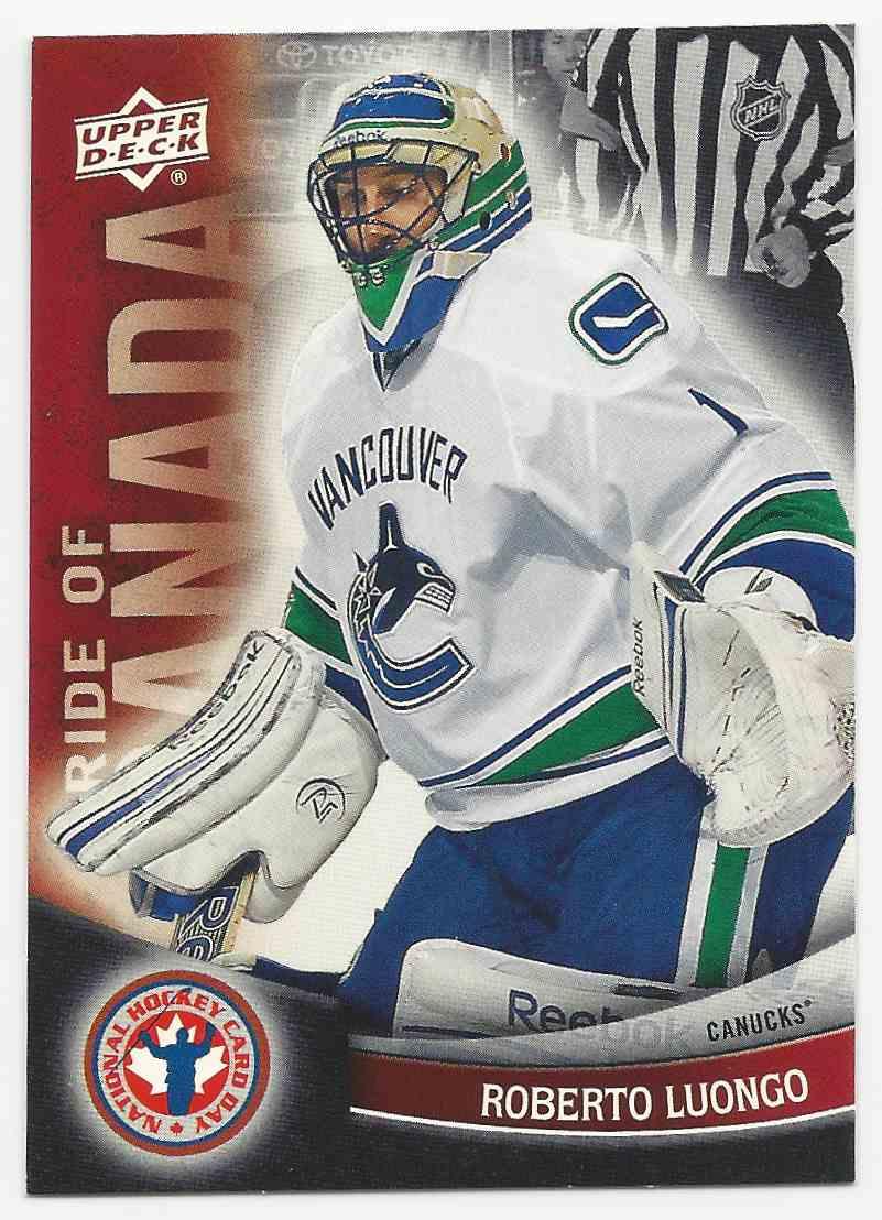 2011 12 Upper Deck National Hockey Card Day Canada Roberto