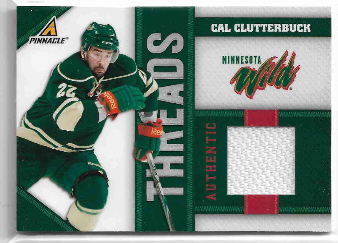 2010-11 Panini Pinnacle Threads Cal Clutterbuck #CB card front image