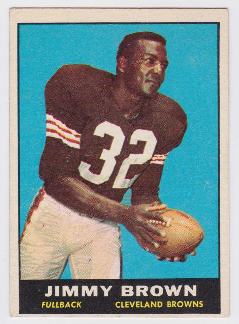 1961 Tcg Jim Brown #71 card front image