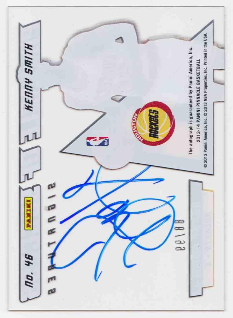 2013-14 Panini Pinnacle Pinnacle Of Success Kenny Smith #46 card back image