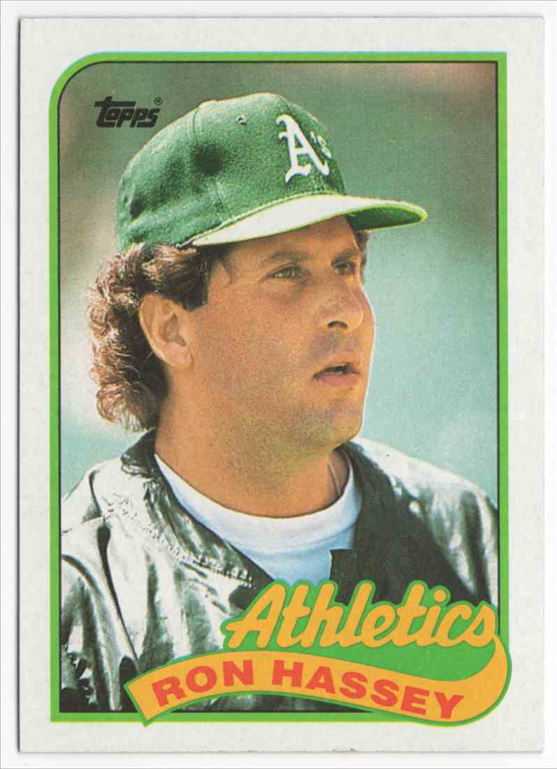 1989 Topps Ron Hassey #272 card front image