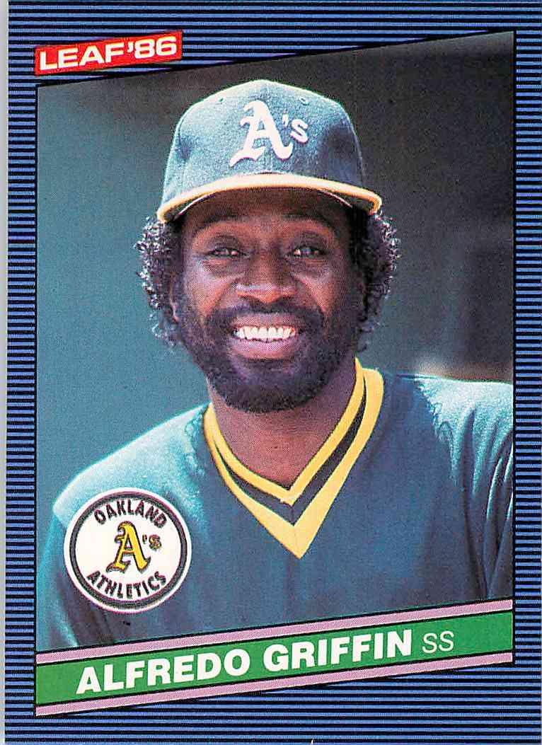 1982 Donruss Baseball Card #101 Alfredo Griffin